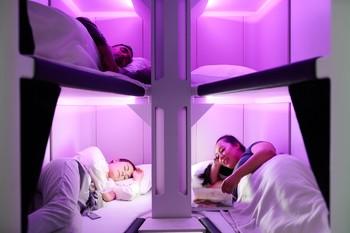 Vuelos en literas, la nueva apuesta de Air New Zealand