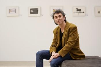 Fede Yankelevich, este jueves, en el Centro de Creatividad IE en la Casa de la Moneda.