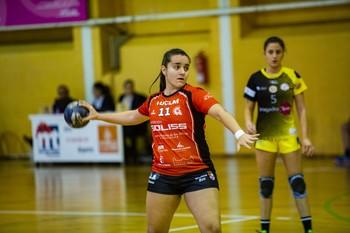 Noelia Delfa, jugadora del Pozuelo.