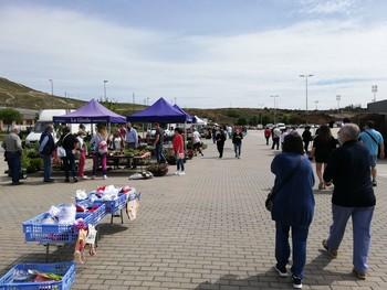 Imagen de archivo del mercadillo de Las Norias.