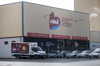 Instalaciones de la Cooperativa Avícola en el polígono del Alto de la Varga.