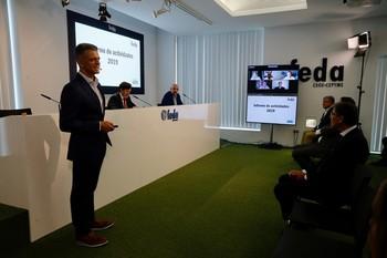 Garamendi destaca el ejemplo de FEDA en su Asamblea