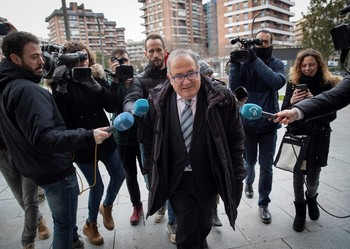 El presidente de Osasuna, Luis Sabalza