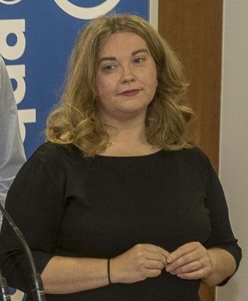 Cristina Ayala, senadora del PP por Burgos.