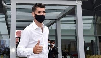 Morata pasa el reconocimiento médico con la Juventus