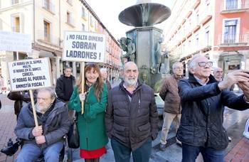 Concentración en defensa de las pensiones.