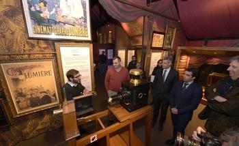 Burgos acoge una exposición sobre el nacimiento del cine