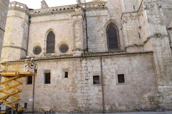Obras en las recapillas de San Sebastián y San Jerónimo