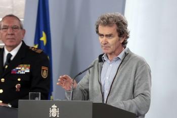 Simón cree que España ha llegado al pico de la curva