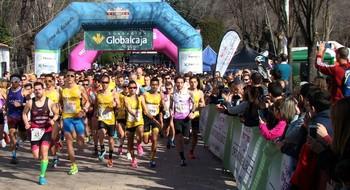 Imagen de la salida del 10K de Villarrobledo