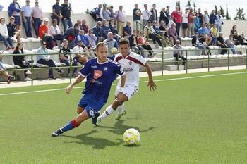 Imagen del Atlético Albacete-Calvo Sotelo celebrado en la primera vuelta.