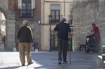 La pensión media sube a 872 euros, el 86% de la nacional
