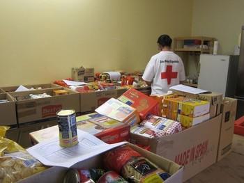 Cruz Roja repartirá 180.000 kilos de alimentos
