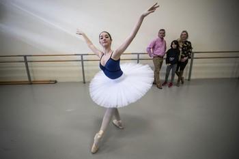 Alexia Poza, bailarina.