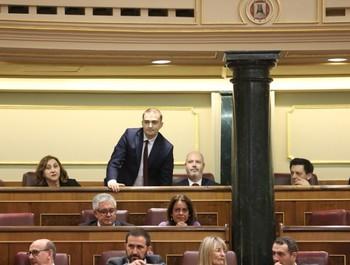 Manuel Arribas toma posesión como diputado de PSOE por Ávila