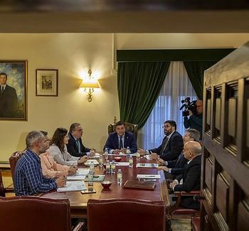 Los Verdugo acoge la reunión para empezar a perfilar el plan
