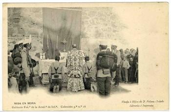 Actos religiosos en la Academia de Infantería (I)