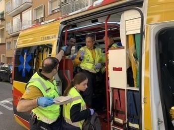 Una mujer de 40 años, herida de bala en la cabeza en Madrid