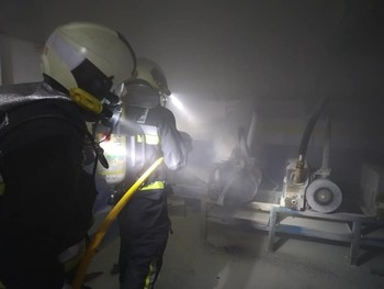 Sofocan un incendio en el Hospital de Toledo