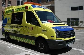 Fallece un octogenario tras volcar su coche en León