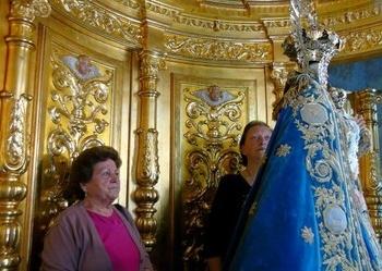 El Camarín de la Virgen de Los Llanos no se abrirá este año