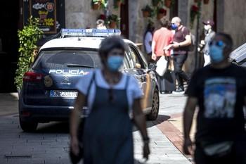 68 multas por no llevar mascarilla en la última semana