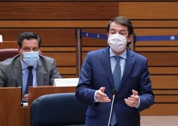 """Mañueco pide a Tudanca que """"no utilice la sanidad como arma"""