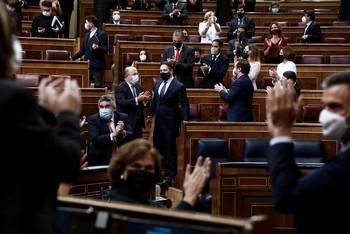 El Congreso rechaza por mayoría la moción de censura de Vox