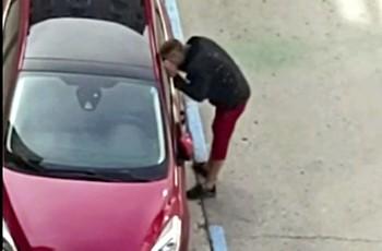 Captura del vídeo grabado por unos vecinos.