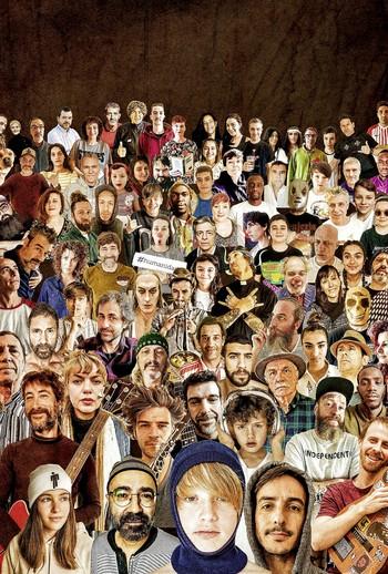 Boceto del proyecto 'La Humanidad'.