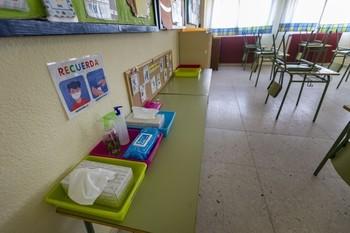 El colegio de Villamalea vuelve a confinar un aula
