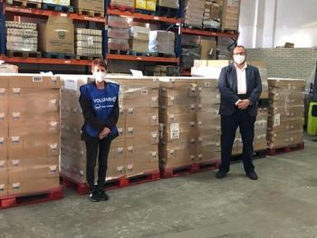 Mercadona entrega 4.700 l de leche al Banco de Alimentos