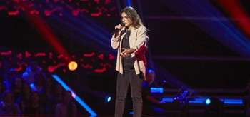 Carlota Palacios, durante su actuación.
