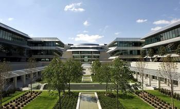 Ciudad Financiera del Grupo Santander, en Boadilla del Monte (Madrid)