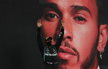 Hamilton, en el olimpo
