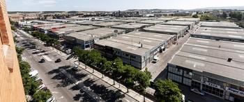 Vista general del polígono industrial de Gamonal.