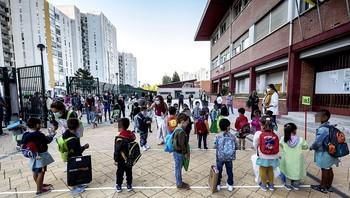 Todos los contagios de alumnos se produjeron fuera del aula