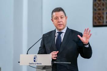 Emiliano García-Page, presidente de Castilla-La Mancha.