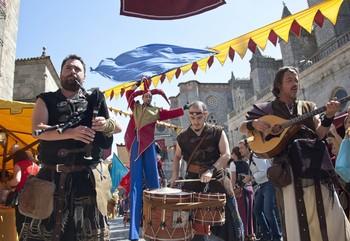 Un mercado medieval en pequeño
