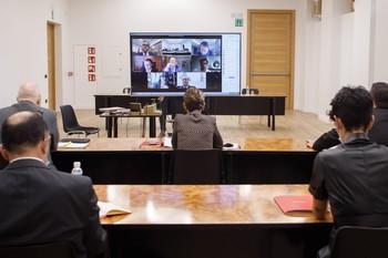 Chivite pide colaboración en la estrategia de recuperación