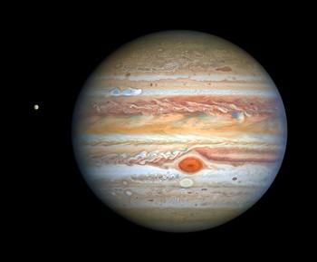 Hubble fotografía la mejor 'cara' de Júpiter