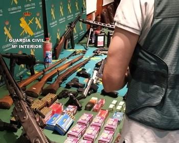 Intervienen una red de tráfico de armas en Navarra