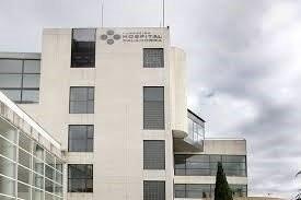 Hospital Fundación de Calahorra, donde ha sido trasladado el hombre accidentado.