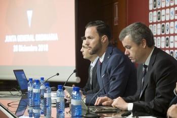 Imagen de una Junta de Accionistas del Albacete.