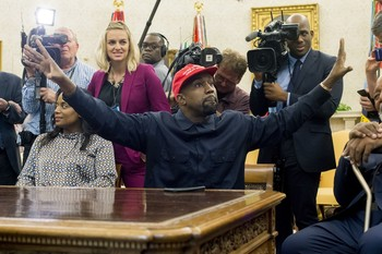 Kanye West anuncia su candidatura a la presidencia de EEUU
