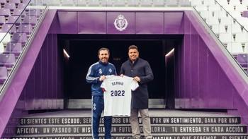 Sergio y Ronaldo, en su renovación hasta 2022.