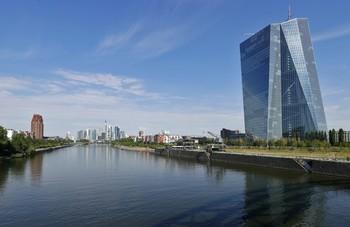 Sede del BCE en Francfort, Alemania