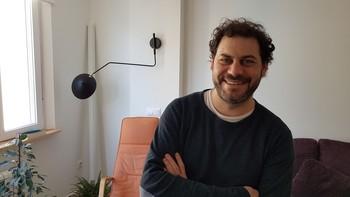 César Rodríguez-Moroy, director e intérprete de Intercambio.