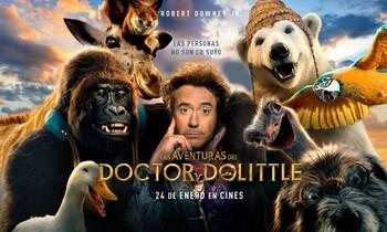 'Las aventuras del doctor Dolittle' llegan a nuestras pantallas