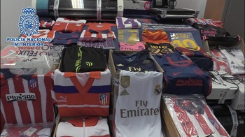 Detenidos en Ontígola por vender ropa deprtiva falsificada